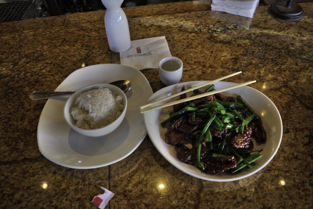Mandarin Beef w/Hot Saki
